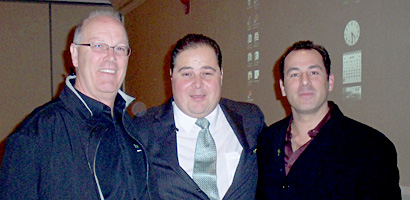 David Bowlby, Director, Feed Them Ministries, Matthew Gulotta, Executive for Wowgreen and Frank Dias, VP Sales for Wowgreen