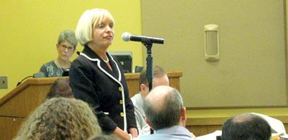 Irvington School Superintendent Kathleen Matuziak