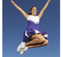Happy Cheerleader