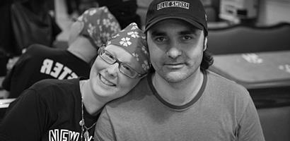 Sleepy Hollow resident Lori Baur and her husband Fredi Meli.  Photo by Ruth E. Hendricks.