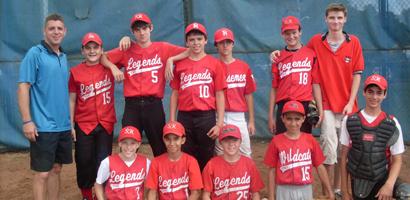 Westchester Baseball Association champs Sleepy Hollow Legends