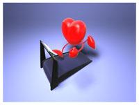 Heart running on a treadmill