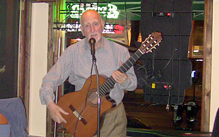 Dominic Chianese playing at J.P. Doyle's