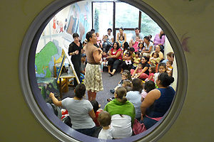 Warner Library children's room