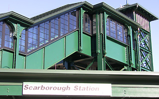 Scarborough train station valet