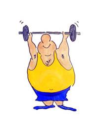 exercise cartoon