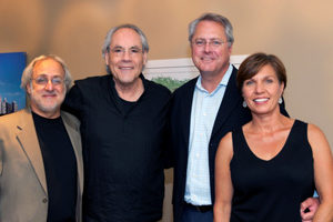 Bob Stein, Robert Klein, Matt Phillips, Santhe Phillips