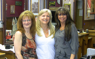 Stylists Patti, Kim, and Antoinette