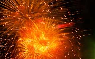 Fireworks video on Facebook