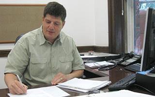Irvington Village Administrator Lawrence S. Schopfer
