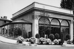 Pierson Florist Shop on Broadway and McKeel in Tarrytown