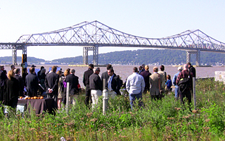 Officials meet in Tarrytown for Riverwalk opening
