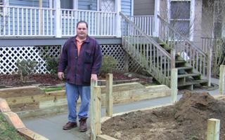 Matthew Gullotta on poured concrete ramp