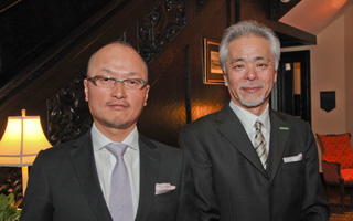 Mr. Haruki Hirakawa, Owner and Mr. Jiro Sato, President of Sankara Hotel Hospitality Group.