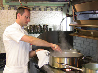 Haymount House Executive Chef Scott Riesenberger