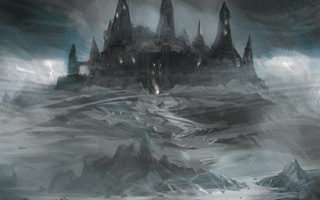 Fog Mist & Cobblestones by Roseanne Greco