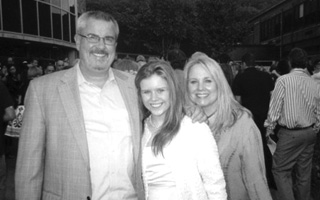 Jennifer Lynch with parents Gene & Eileen