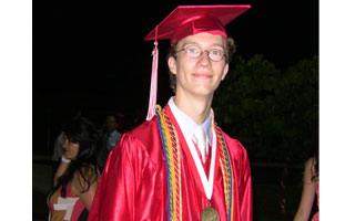 Andrew Eagan, 2012 Sleepy Hollow Highschool Valedictorian