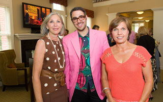 The Club Advisory Board Member Susan Yubas, Ari Seth Cohen and Santhe Phillips of Integrated Development Group