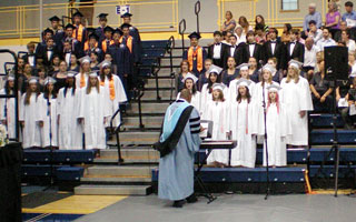 Briarcliff High School Chorus at 2012 Graduation