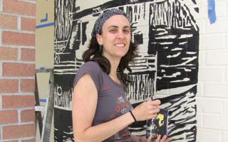 Artist Kristin Dreher