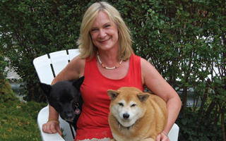 Owner Laura Haupt of Bark & Meow