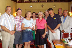 Elise Smith and Briarcliff Manor Chamber of Commerce