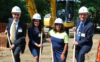 Work starts at Robin's Nest Child Care Center, Phelps Memorial Hospital