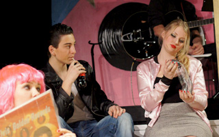 Salomon Lupo in the Academy's production of