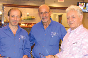Chris Grammatas, George & Louie of Lefteris Gyro