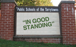 Tarrytown public schools In Good Standing