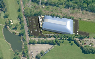 proposed Westchester Field House aerial vew