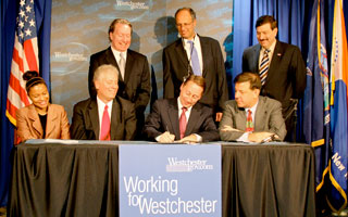 County Executive Robert Astorino signs 2013 budget