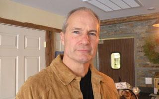 David Loesch, owner of Tastefully Yours Café