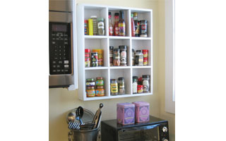 around the house-maximizing storage