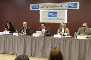 Briarcliff Caucus Meeting the Candidates forum