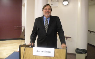 Aaron Stern, Current Chair of People's Caucus