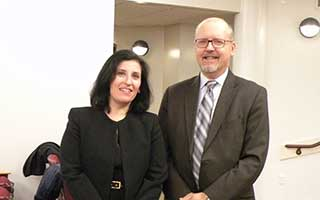 Laurie I. Sullivan and opponent, Howard Code.