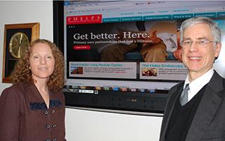 Mary Sernatinger and Keith Safian