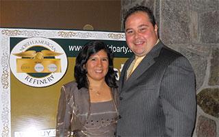 Matt and Cinthia Gullotta of North American Refinery