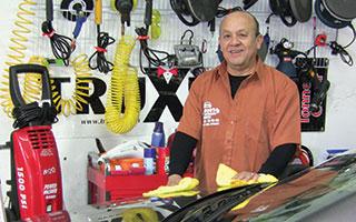 Jorge Hidalgo of Magoo's Auto Detailing