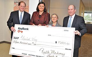 Keybank makes $15000 donation