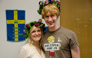EF Culture Fair May 17th Students from Sweden