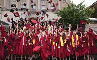 Graduates at EF International Academy
