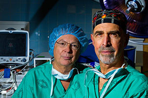 Avraham Merav Md and Rocco Lafaro MD Phelps Memorial Hospital