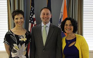 Robi Schlaff, Robert Astorino and Diane Balistreri