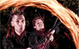 A Night on Fire fire jugglers