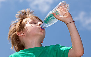 hydration exertional heat stroke
