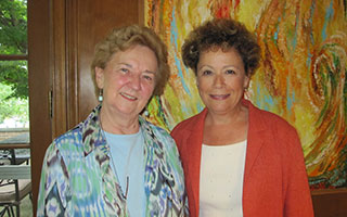Ann Grow and Concetta Stewart of Mercy College