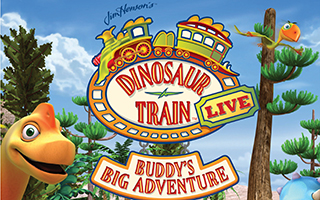 Dinosaur Train at Tarrytown Music Hall